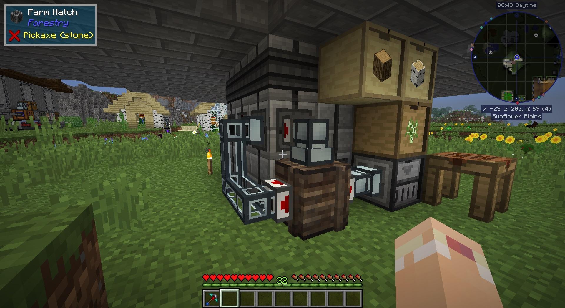 Minecraft Billionaire #3 Forestryクエスト – ak's